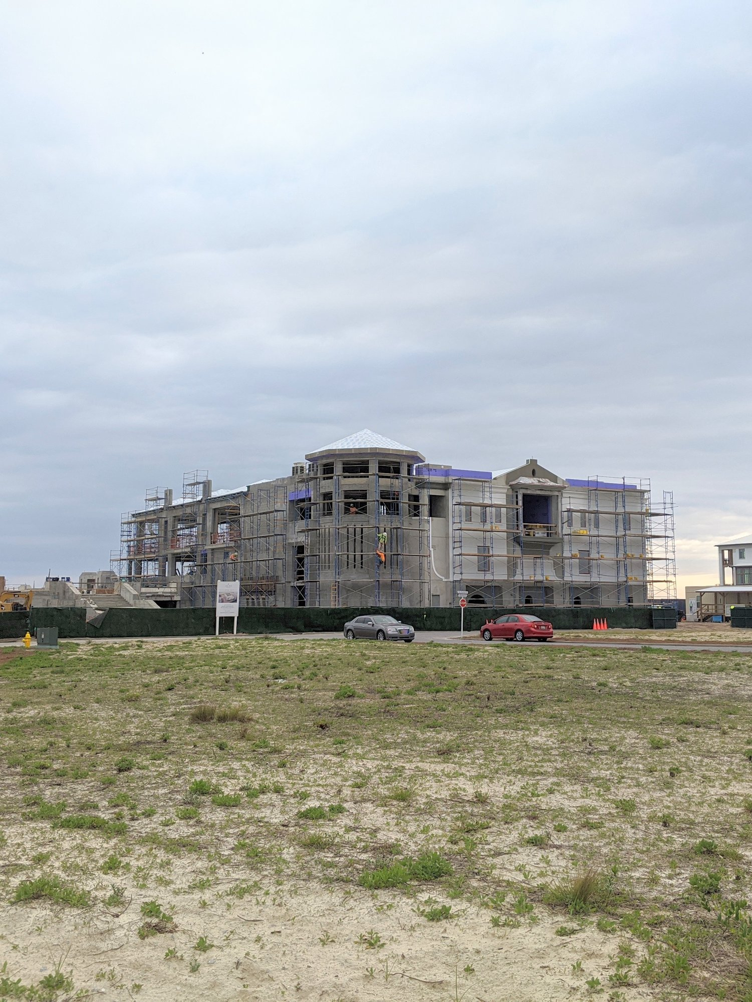 Alys Beach owners club under construction update